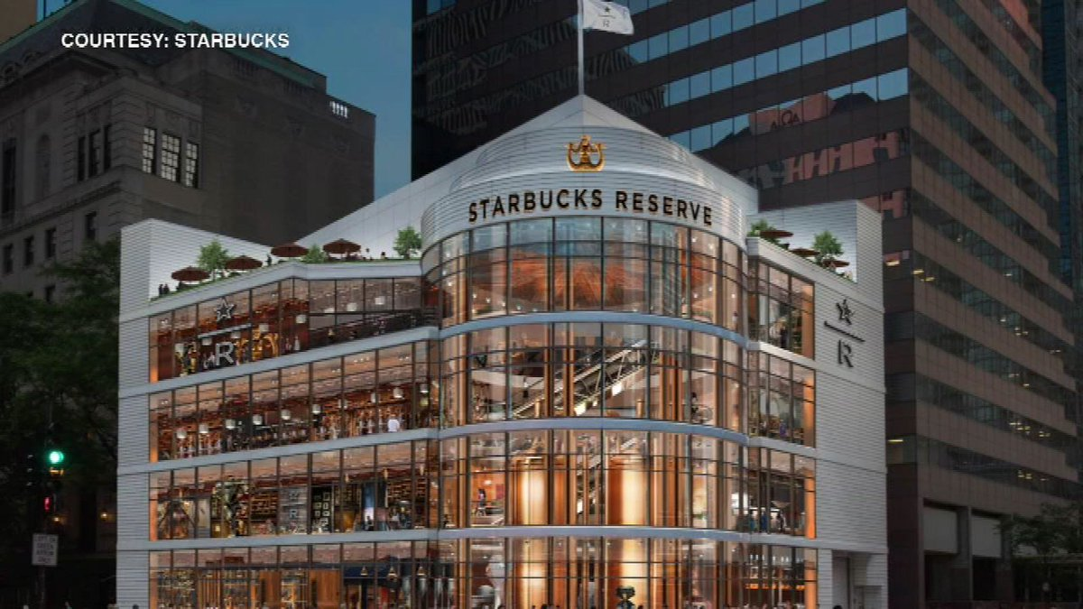 Starbucks to open 4-story, 43,000-square-foot tourist attraction in Ch...