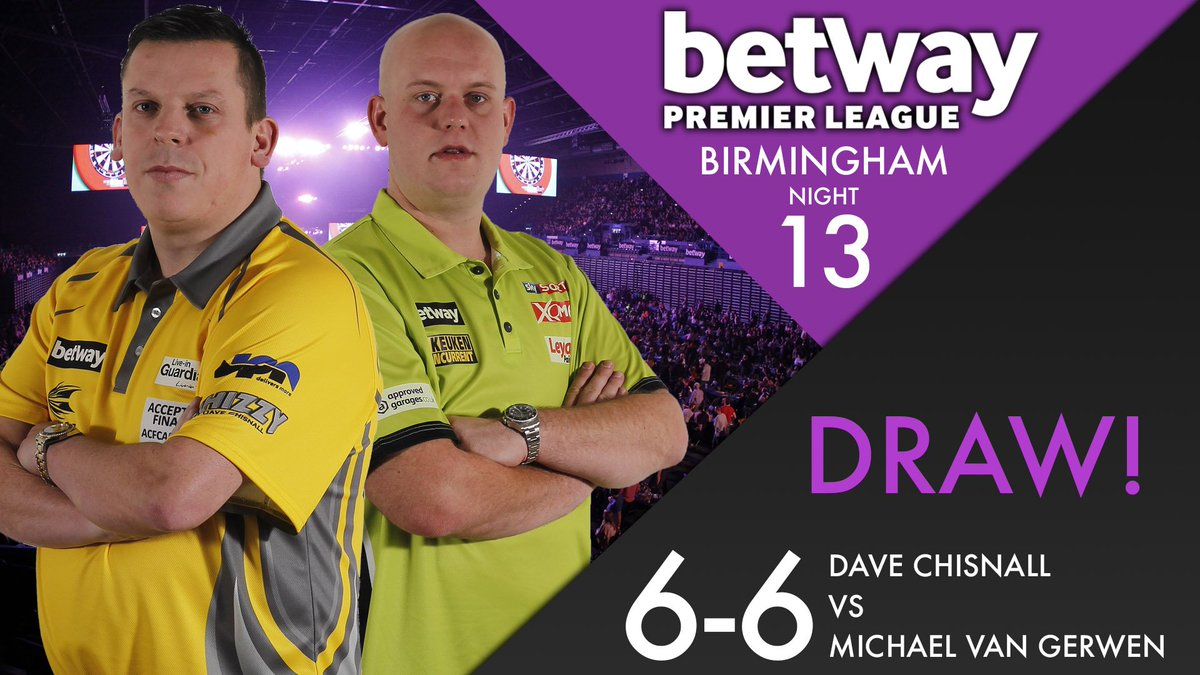 DRAW! Michael van Gerwen recovers from 6-3 down to secure a point agai...