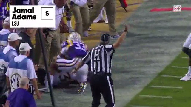Another Tiger gets taken!   Jets take LSU safety Jamal Adams with the...