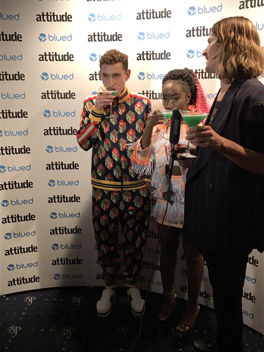 Does @alexander_olly win outfit of the night? YOU BET HE DOES 🔥 #Attit...