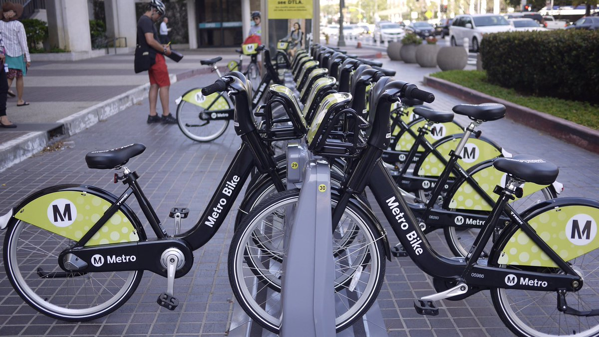 Phase II #BikeShare okayed by @metrolosangeles adding stations in #Ven...