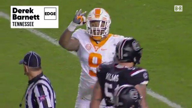 Fly Eagles (defense), FLY!  Philadelphia takes Tennessee DE Derek Barn...