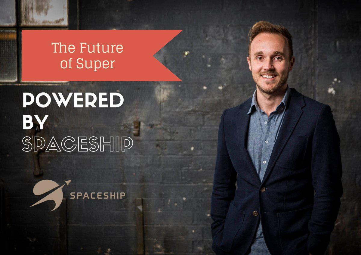 Next Thursday, we're having lunch with @SpaceshipAU. What does the future of superannuation look like? Grab tickets: https://t.co/Gms0kKihUz