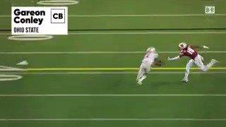 Raiders take Ohio St. CB Gareon Conley with the No. 24 overall pick. h...