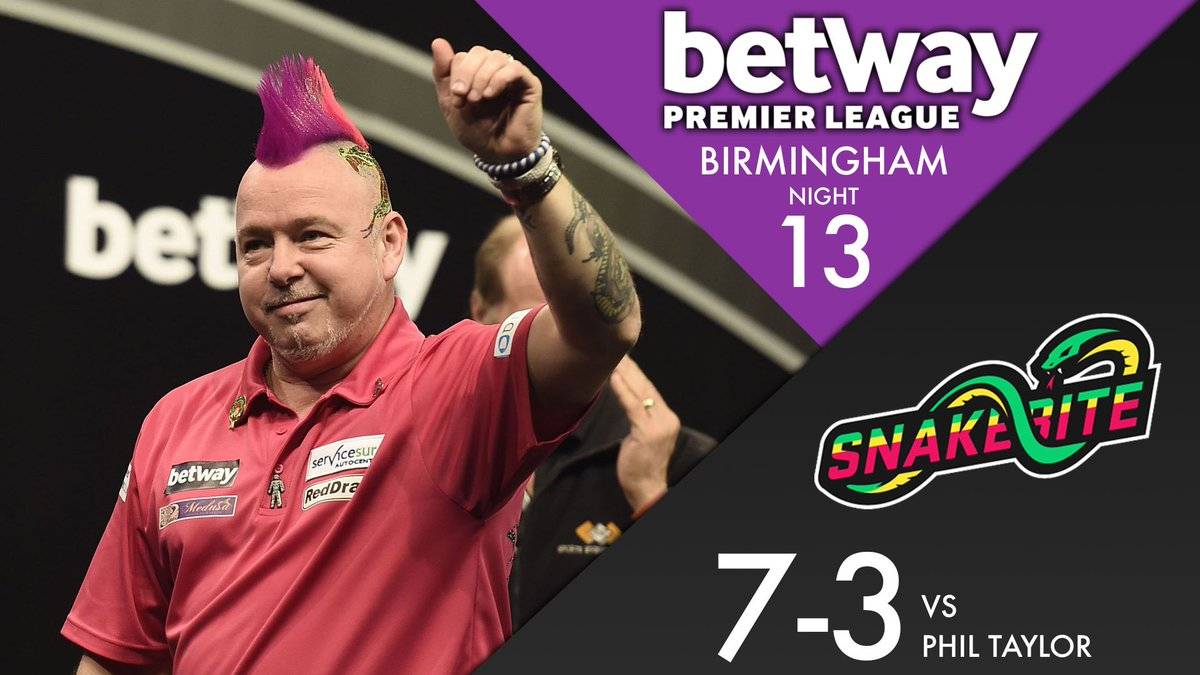WINNER! Peter Wright moves closer to cementing his Play-Off place as h...