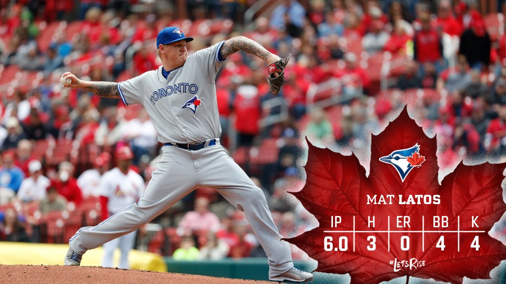 6 shutout innings from Mat Latos. 👌 https://t.co/8DHeyLaVcC