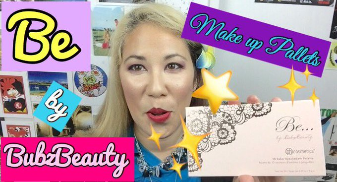 Make up PALETTES! Be by Bubzbeauty Product Review