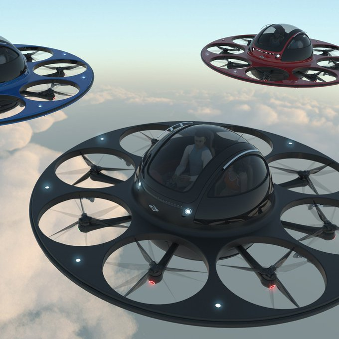 These flying saucers could take over the sky
