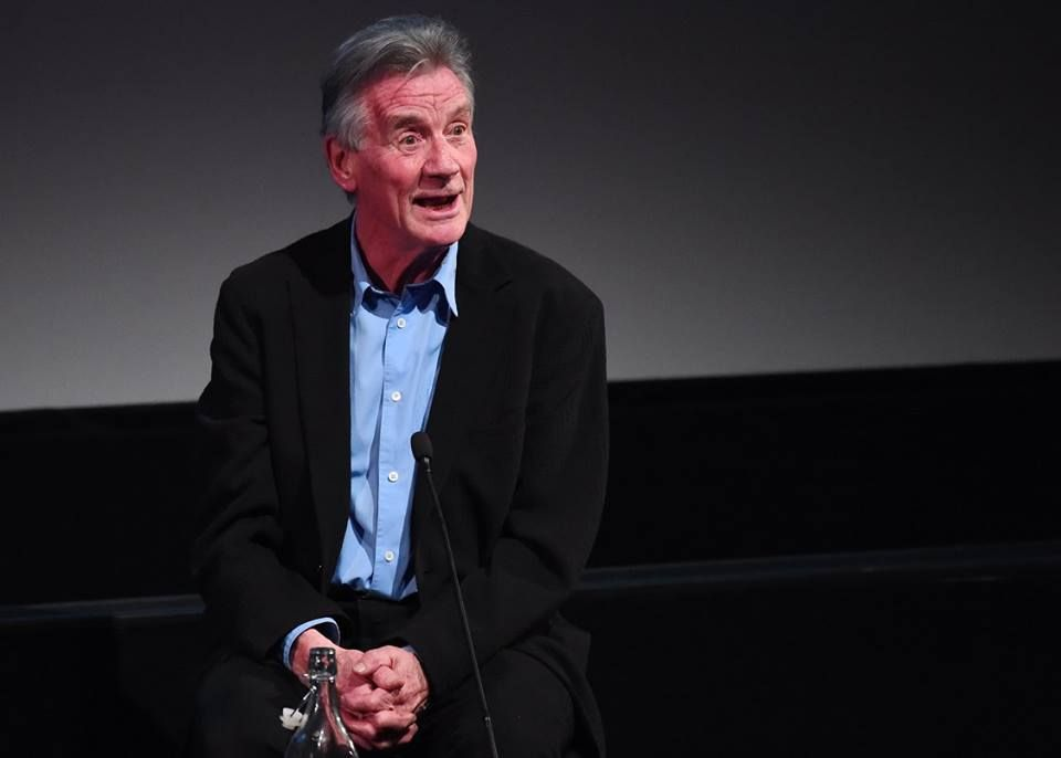 Watch Michael Palin on comedy, his legacy, and travelling aboard 'Deli...