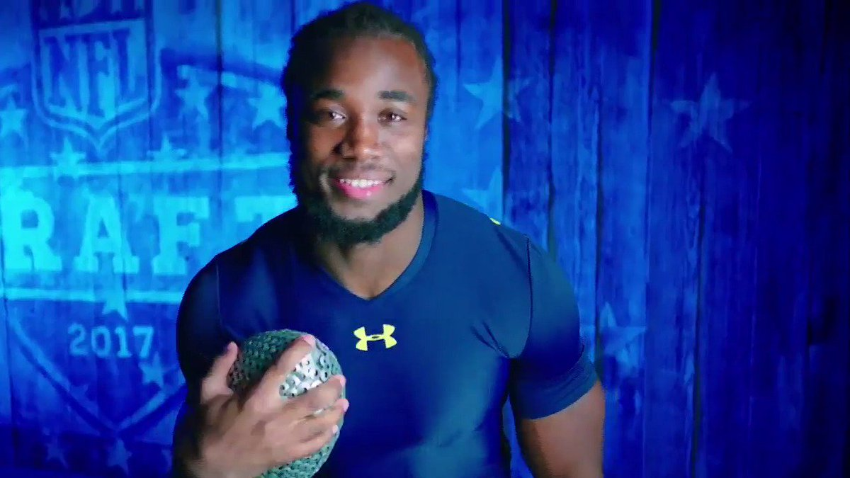 Dalvin Cook. Running back. Florida State University.  Watch the #NFLDr...