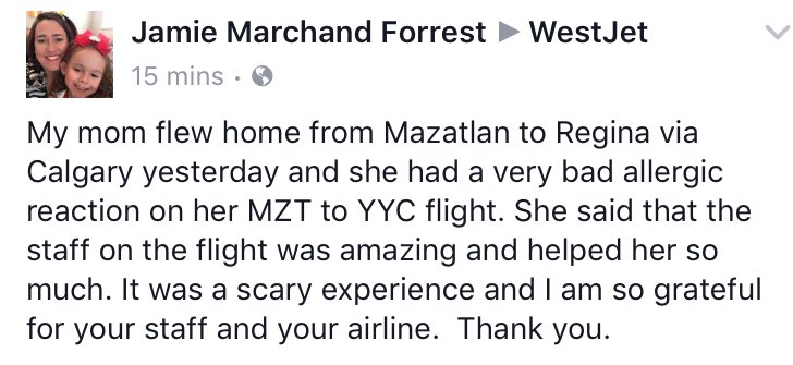 Another #awesome @WestJet #experience from @fiteach #yyc https://t.co/...