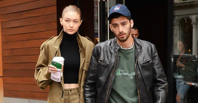 Gigi Hadid and Zayn's Latest Couples Outfit