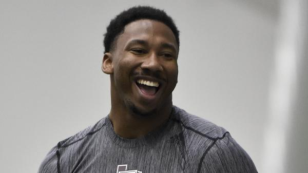 The Browns will reportedly select Texas A&M's Myles Garrett with t...