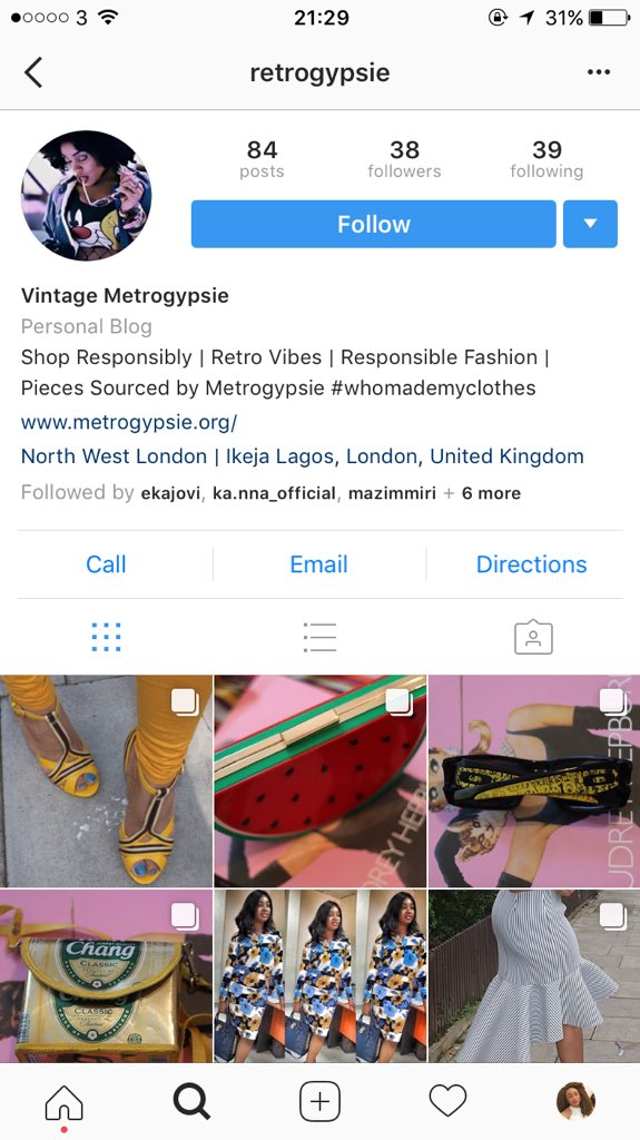 @sustyvibes Also got a vintage inspired store where I source great retro pieces myself. @retrogypsie - https://t.co/pRpTCXVMai #sustyCelebChats https://t.co/5KUkJww942