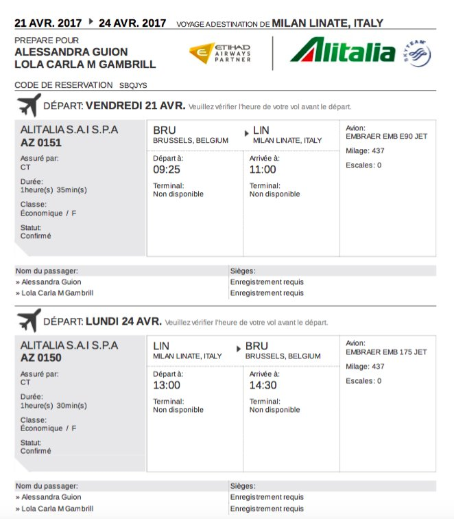 boarding pass alitalia