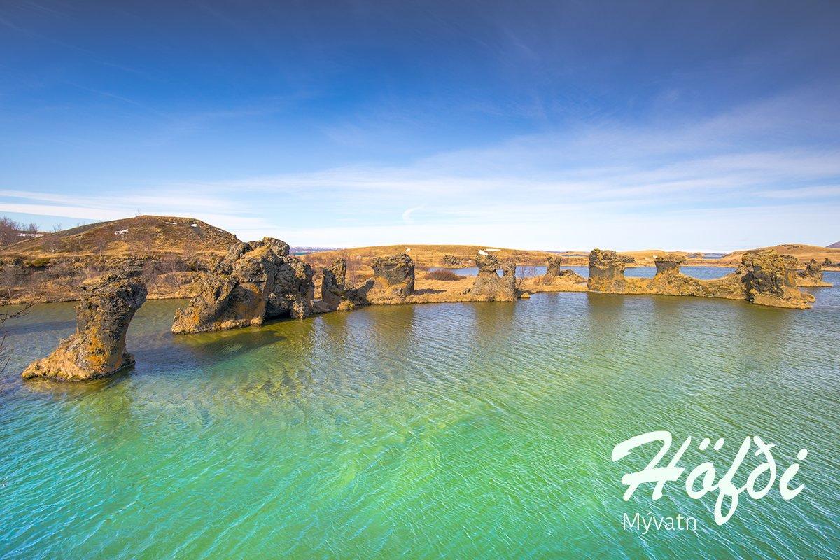 Höfði in Mývatn, Iceland