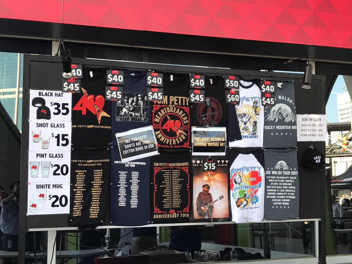 Tom Petty Gear : philips arena on twitter calling all tom petty and the heartbreakers fans our pop up merch ~ Russianpoet.info Haus und Dekorationen