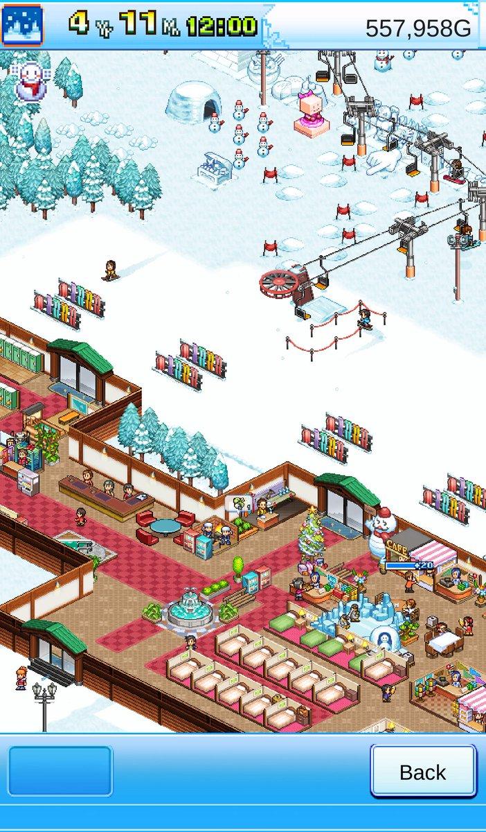 "longinuz on twitter: ""check out my shiny ski resort! #kairosoft"
