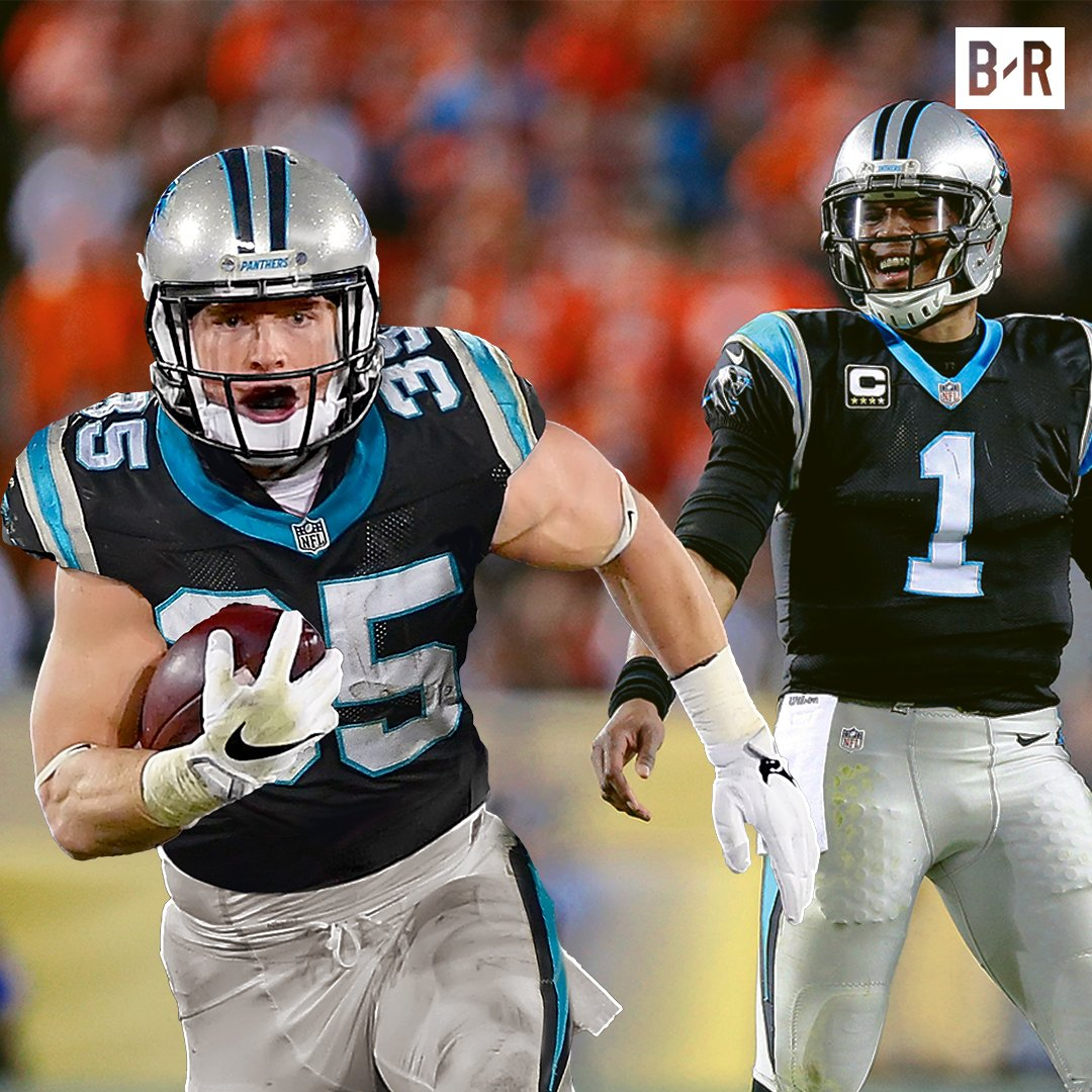 Cam has a new weapon, Hello, Christian McCaffrey. https://t.co/M129UQM...