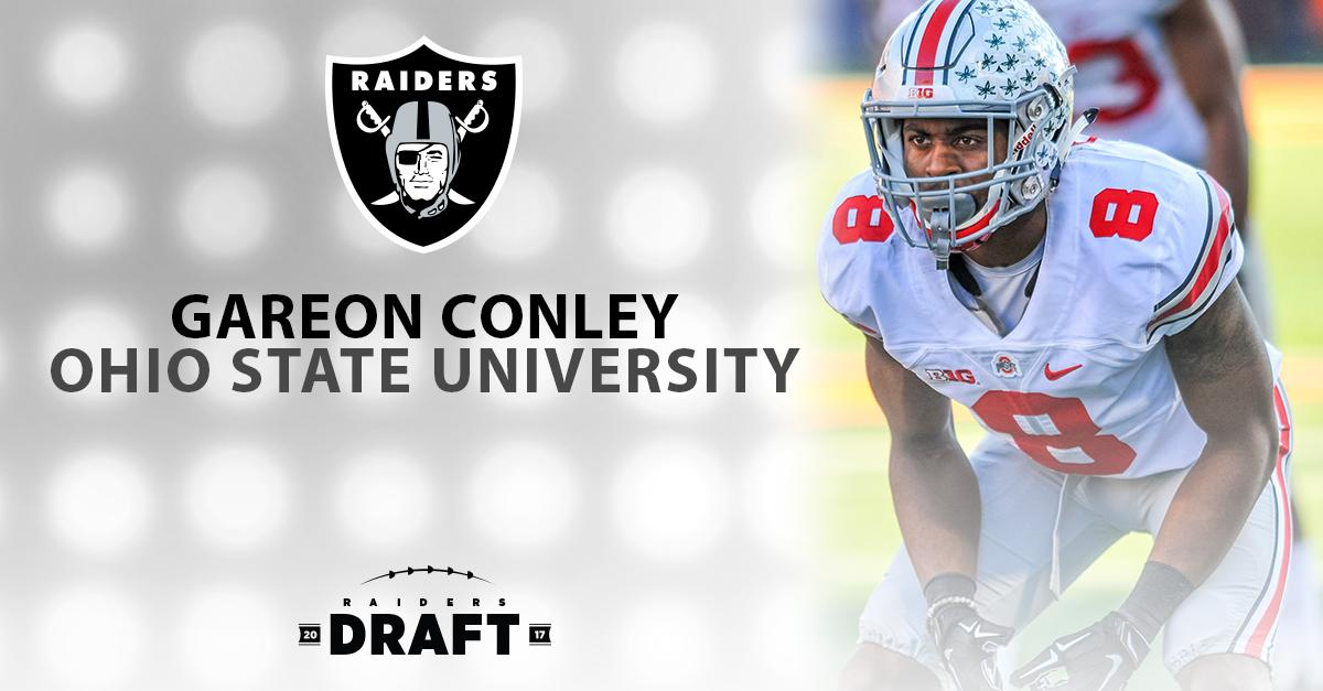 With the 24th pick in the 2017 NFL Draft we have selected DB Gareon Co...