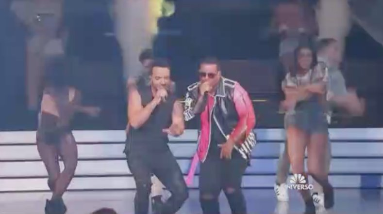 .@LuisFonsi & @daddy_yankee perform their hit #Despacito at the #Billboards2017! WATCH! https://t.co/MnhIG3l6iu https://t.co/coPoKSonsk