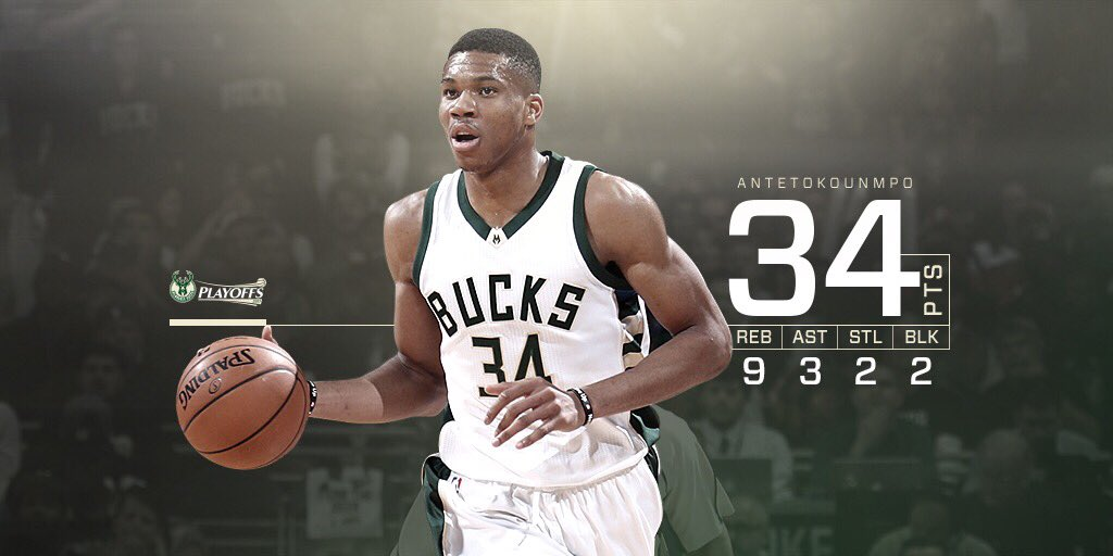 Season high 46:39 minutes for @giannis_an34 tonight. #FearTheDeer http...