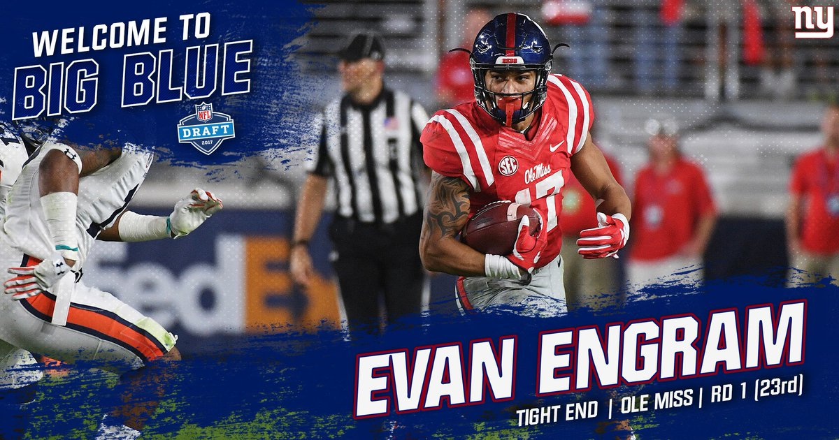 View the best photos of the #NYGiants newest TE, Evan Engram!  📸: http...