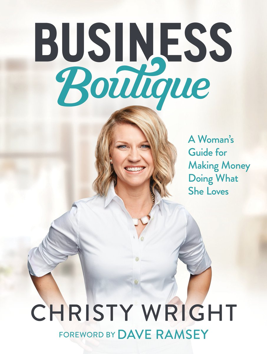 Book signing with @ChristyBWright at Barnes and Noble near Citadel begins at 6 p.m. today. @ChristyBWright is on @DaveRamsey's team!