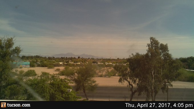 Current conditions from the Star weather camera looking south. #tucson #azwx