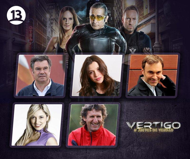 ¡Se viene, se viene! HOY después de @T13 nuevo capítulo de #Vértigo201...