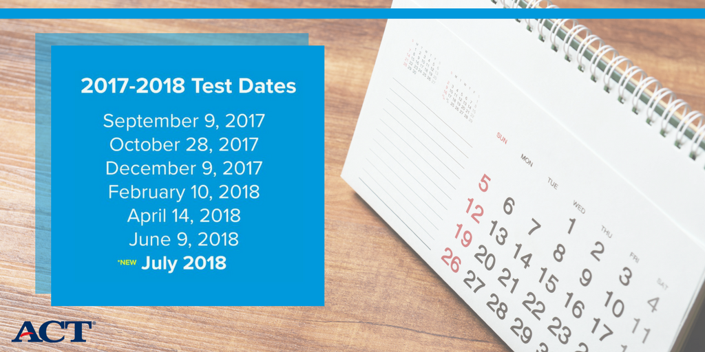 You asked; we listened. Students will soon have the opportunity to take the ACT in the summer. More details here: https://t.co/LRfg4xrU3m https://t.co/o0FahawOwB