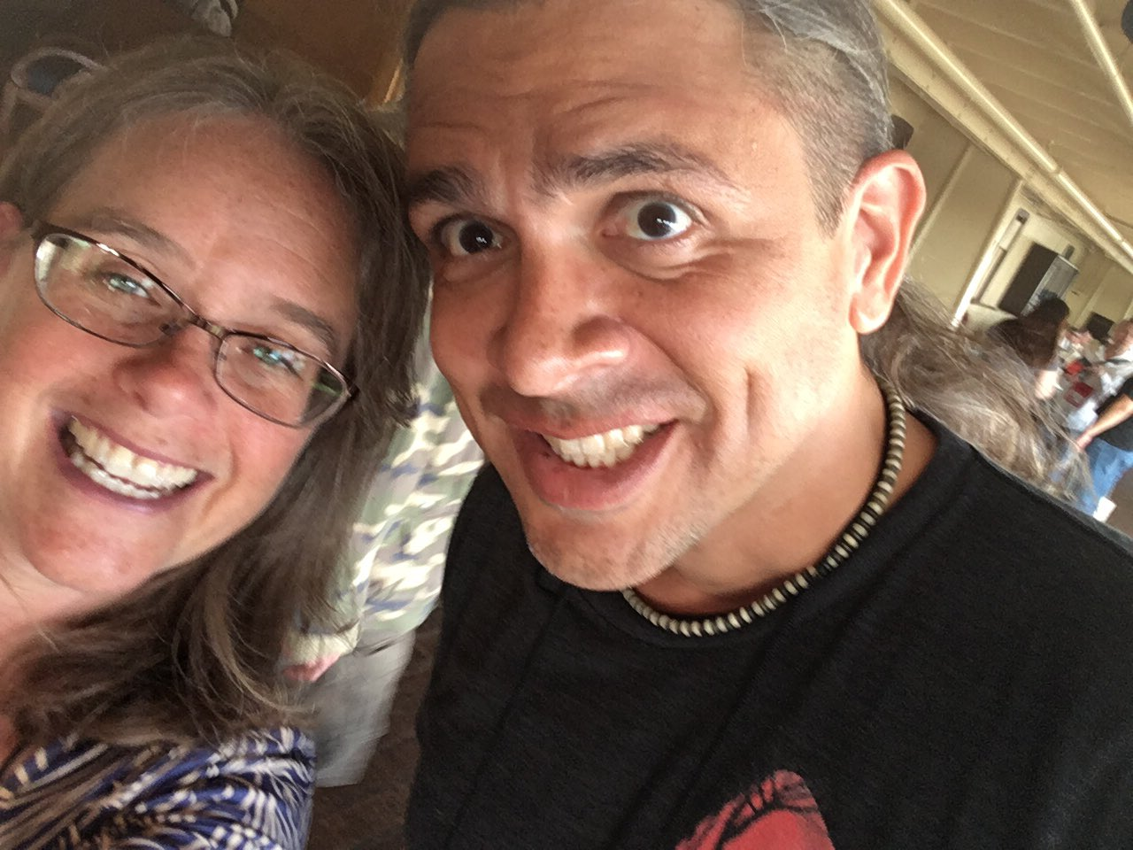#StokerCon2017 selfies with @SGJ72 https://t.co/gr8IYZksHP