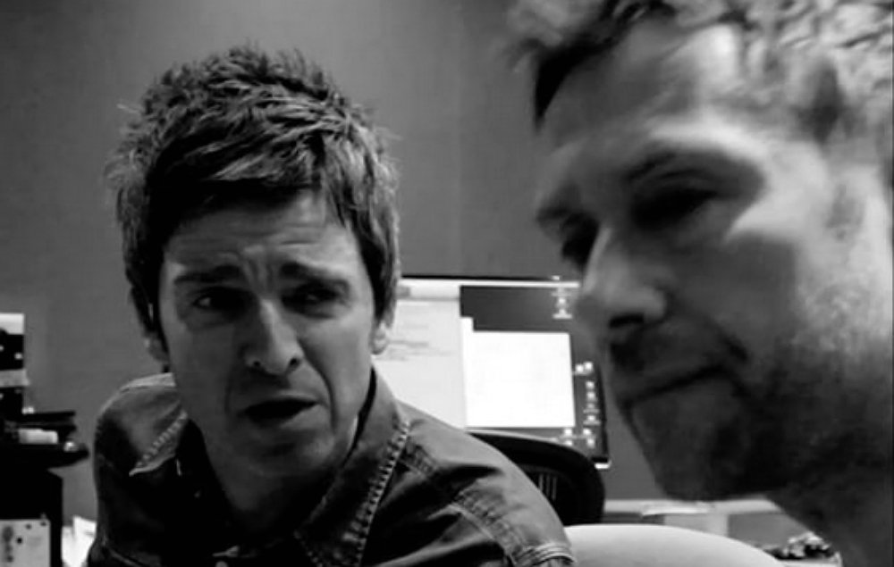 Gorillaz share footage of recording and performing with Noel Gallagher...