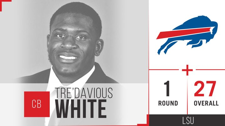 Tre'Davious White, you're coming to Buffalo!  We've picked the CB in t...