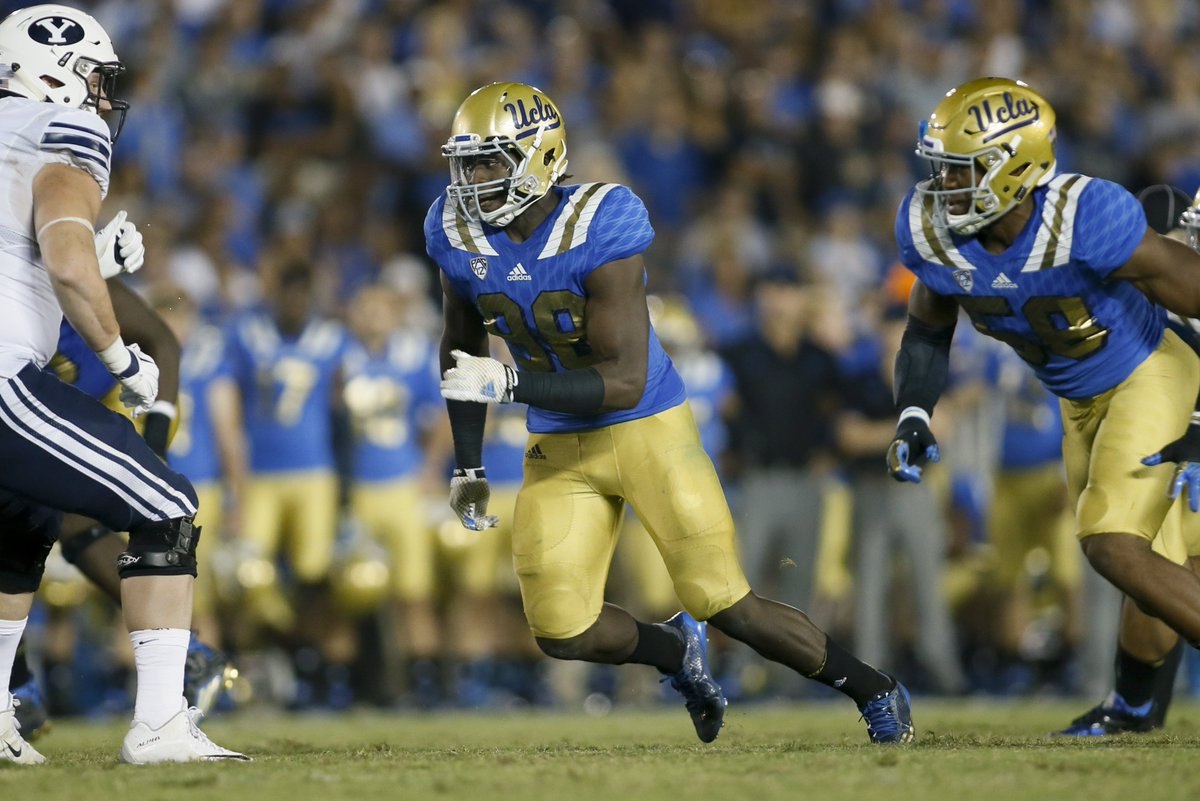 Falcons take UCLA OLB Takkarist McKinley with the No. 26 overall pick....
