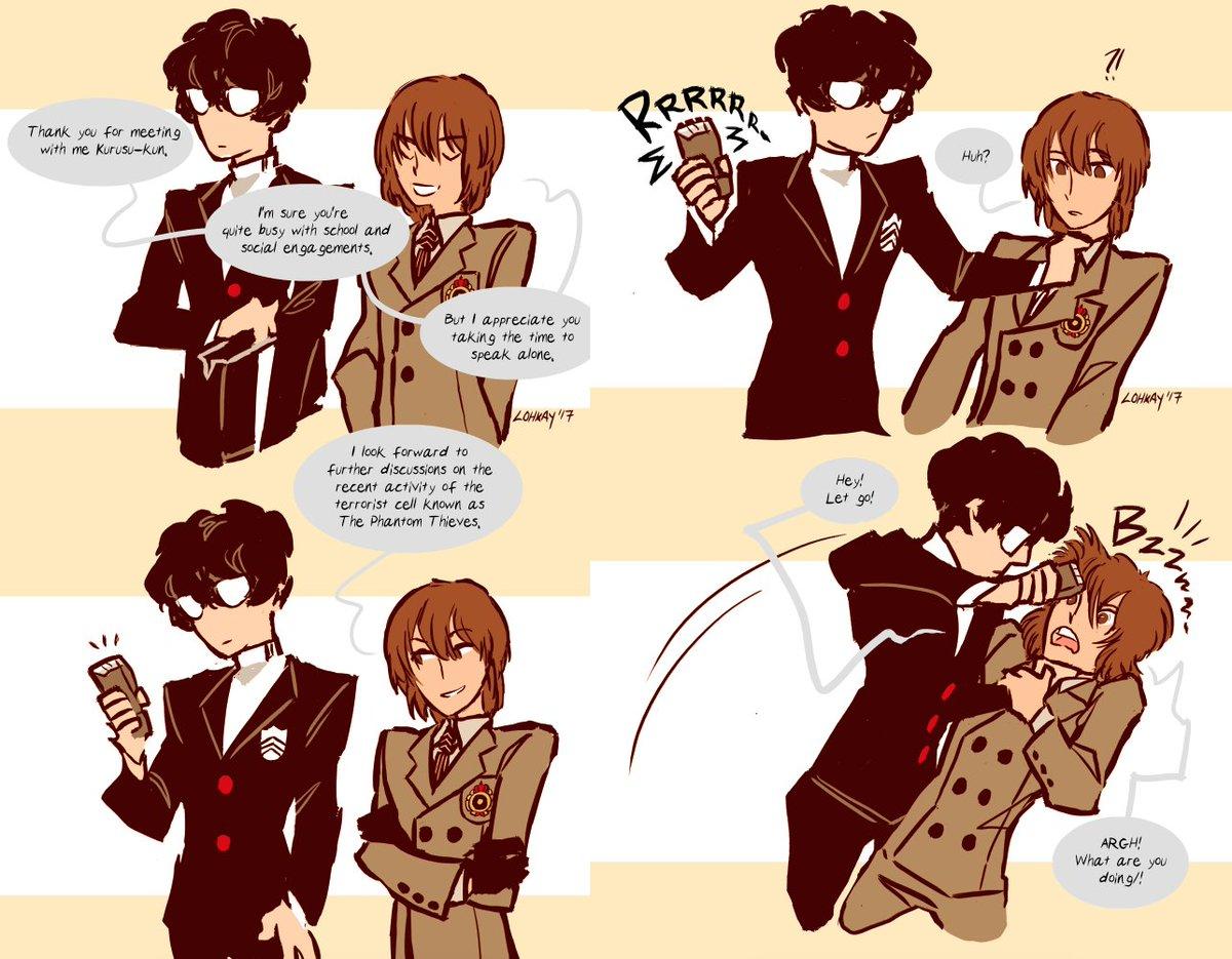 Lohkay Does Comics On Twitter Come Here Akechi Goroakechi Akechigoro Akirakurusu Joker Persona5 P5