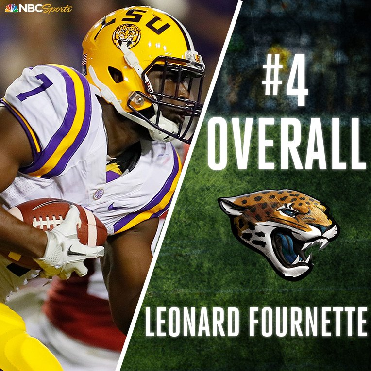 With the 4th pick in the #NFLDraft, the @Jaguars select Leonard @_four...