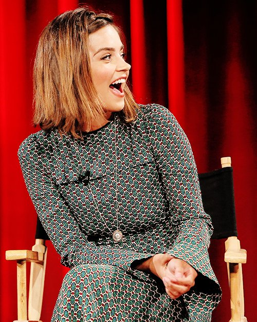 Happy birthday to the lovely and talented Jenna Coleman!
