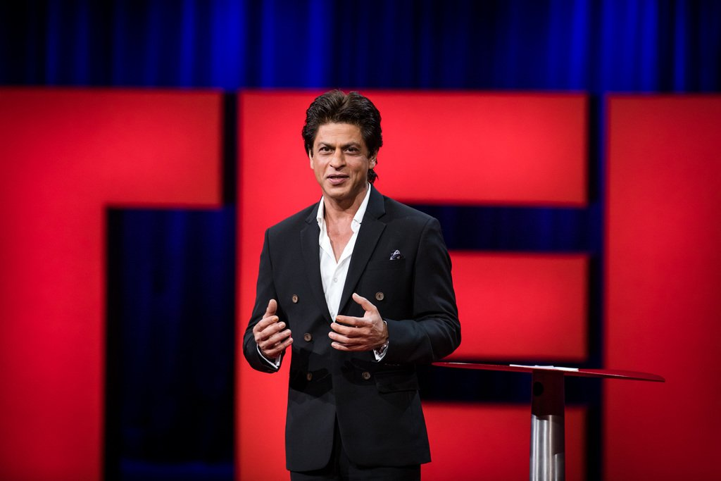 'You can use your energy to spread the darkness of destruction or you can use it to spread the joy of light to millions.' @iamsrk #TED2017