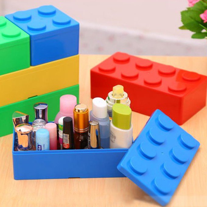 Block Shaped Storage Box