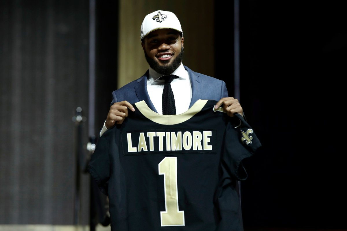 Welcome the newest Saint to New Orleans: Marshon Lattimore @shonrp2! #...