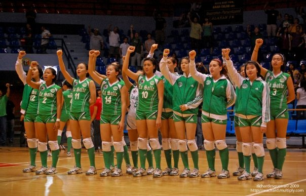 #FlashbackFriday DLSU Lady Spikers UAAP Season 71 2009 #dlsu @dlsulady...