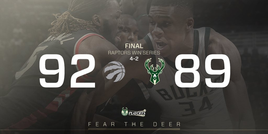 Left It All On The Court. #FearTheDeer https://t.co/p9yxnkzLRy