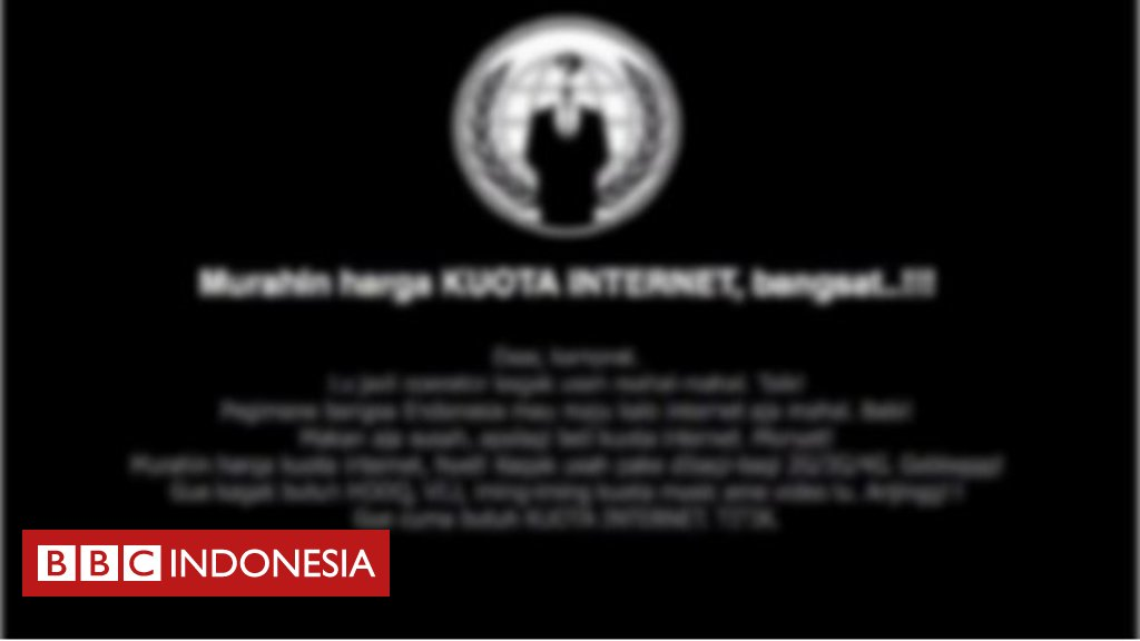 Telkomsel 'minta maaf' setelah situs resminya diretas https://t.co/00k...
