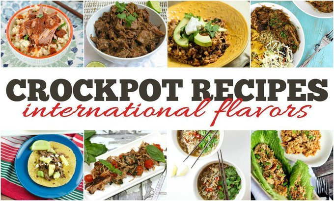 20 International Slow Cooker Recipes