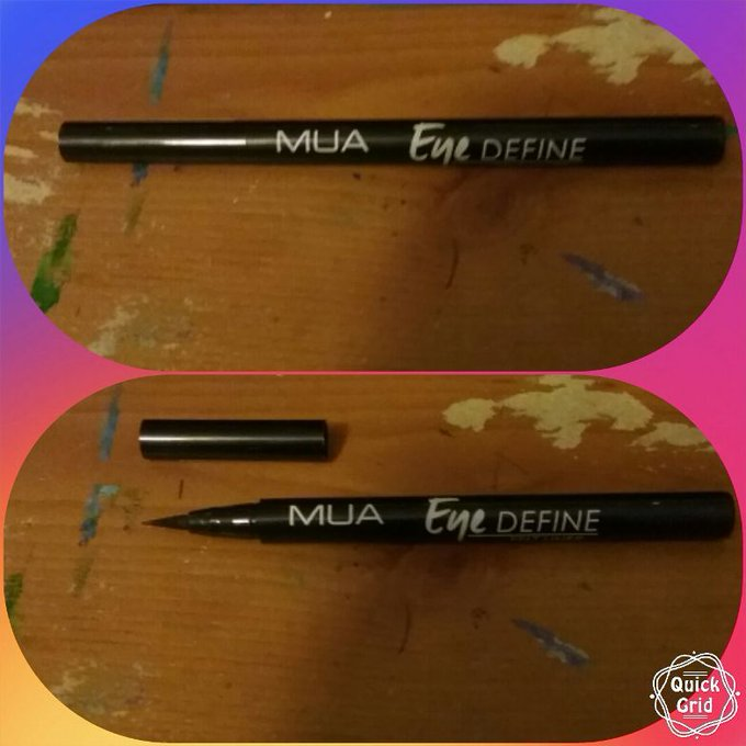 MUA Eye Define eyeliner pen