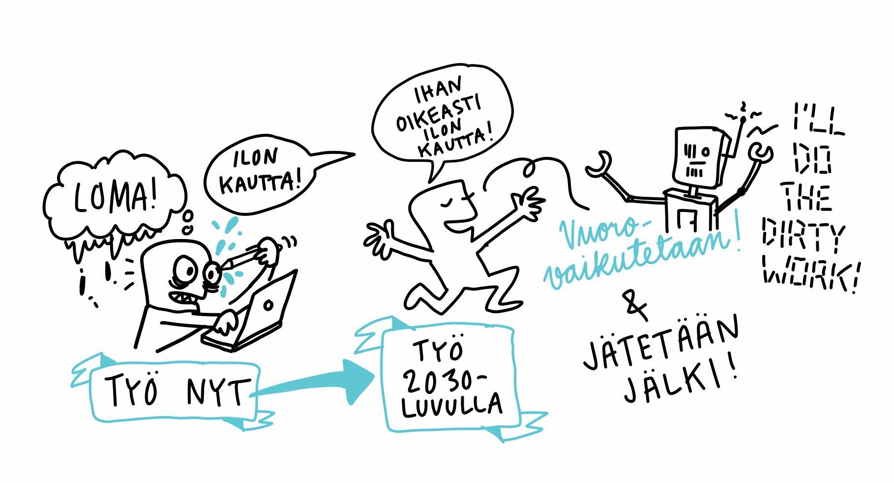 Ilkka Halava vetää hyvällä sykkeellä työn muutoksesta. @PingHelsinki #pinghelsinki @IlkkaHalava https://t.co/UsojURdljf