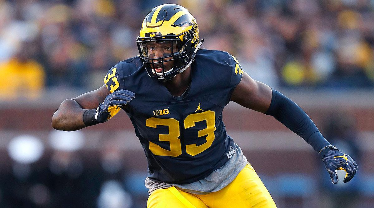 The Cowboys select DE Taco Charlton with the 28th pick, reports @Alber...