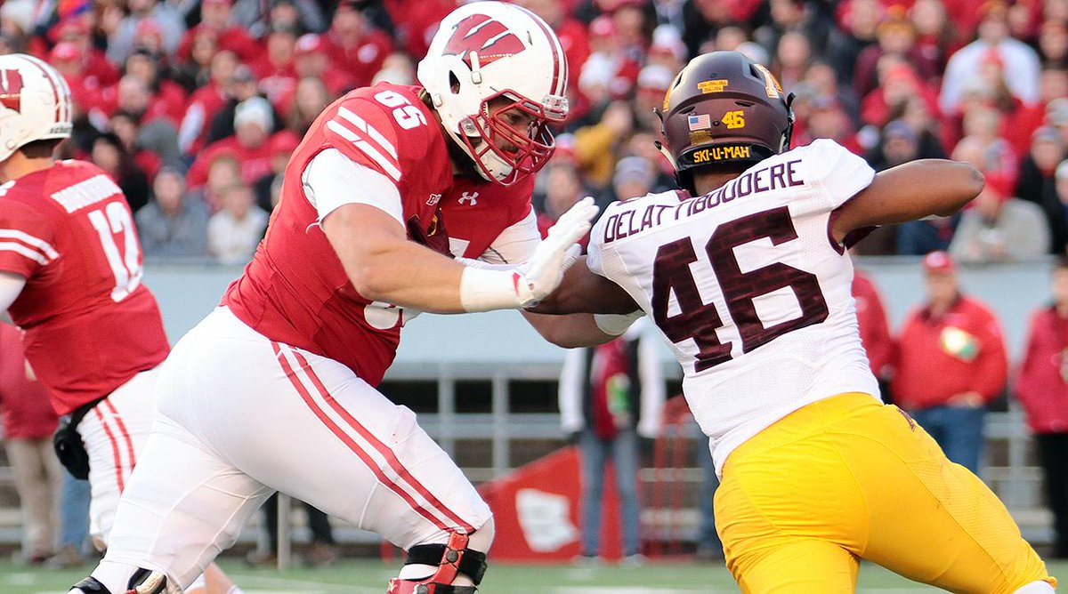 The Saints will select OL Ryan Ramczyk with the 32nd pick, @SInow can...