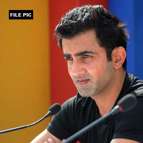 Gautam Gambhir to bear full expenses of the children of 25 CRPF personnel killed in Sukma attack, Gambhir's media manager confirms to ANI